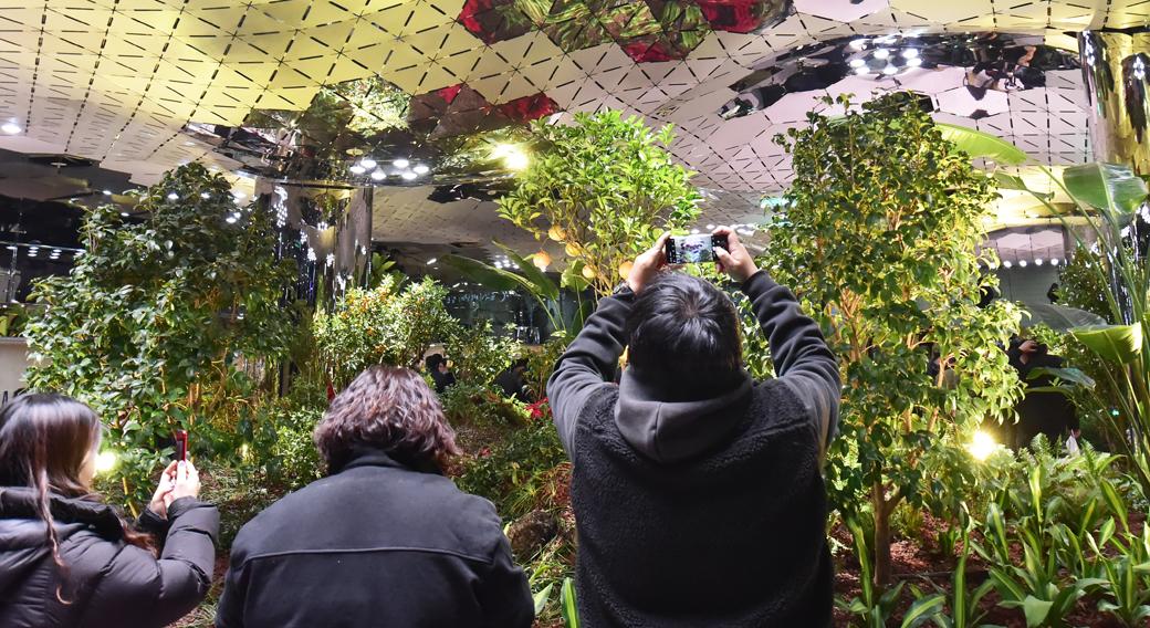종각역 지하공간 '태양의 정원'으로 재탄생
