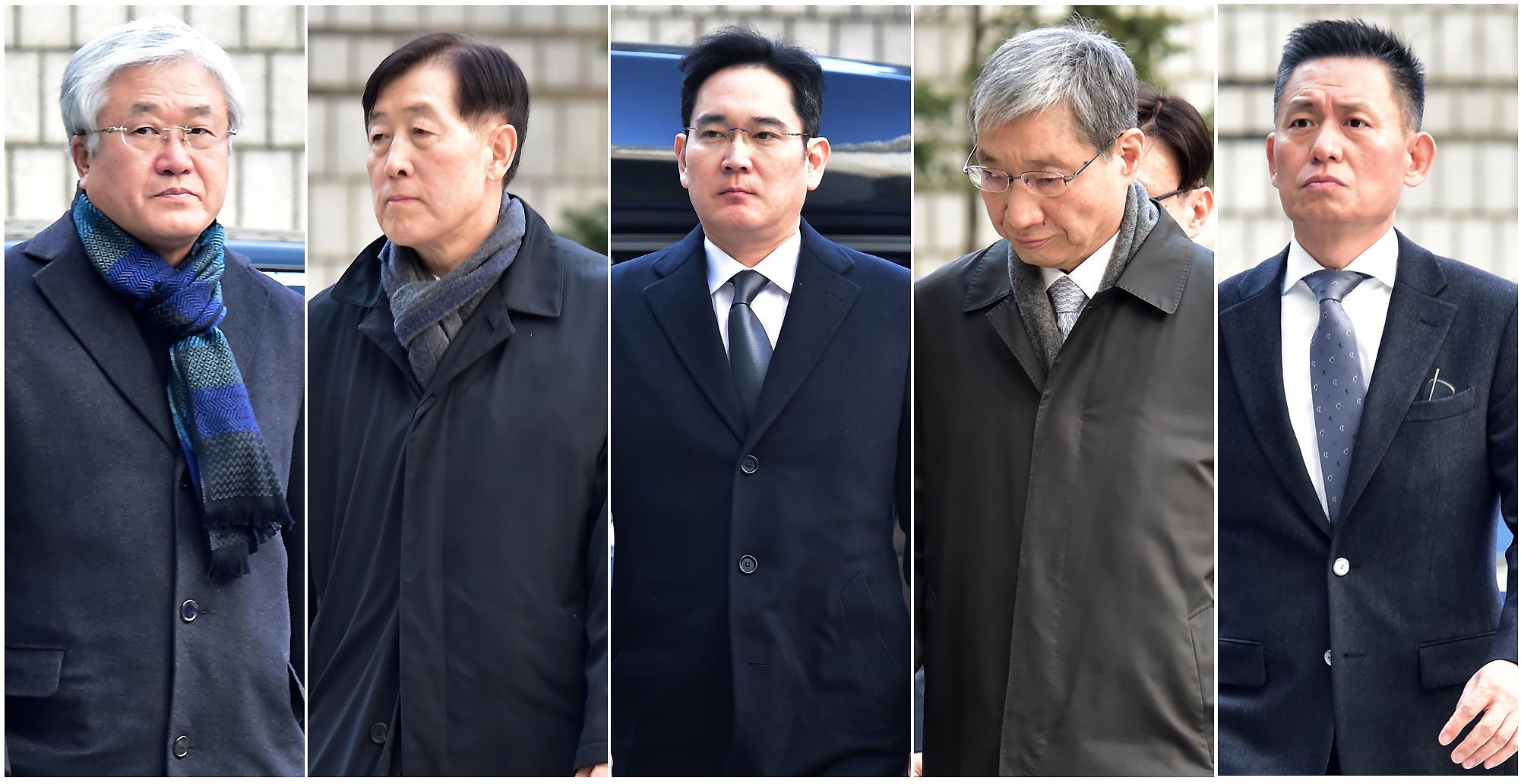 파기환송심 4차, 이재용 삼전 부회장·전 임원진 출석