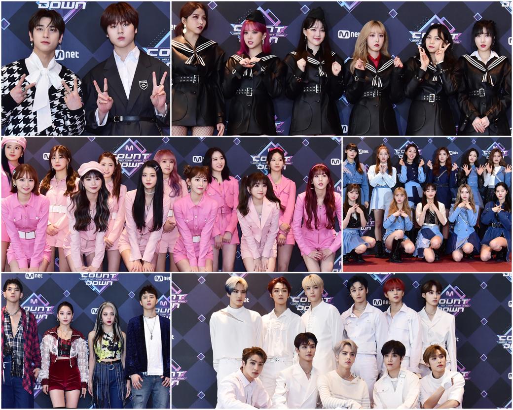 '여자친구'부터 '아이즈원'까지, 제653회 Mnet 엠카운트다운
