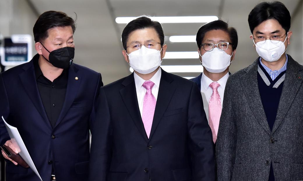 황교안 대표 주재 '코로나 19' 대책특위 전문가 합동 간담회