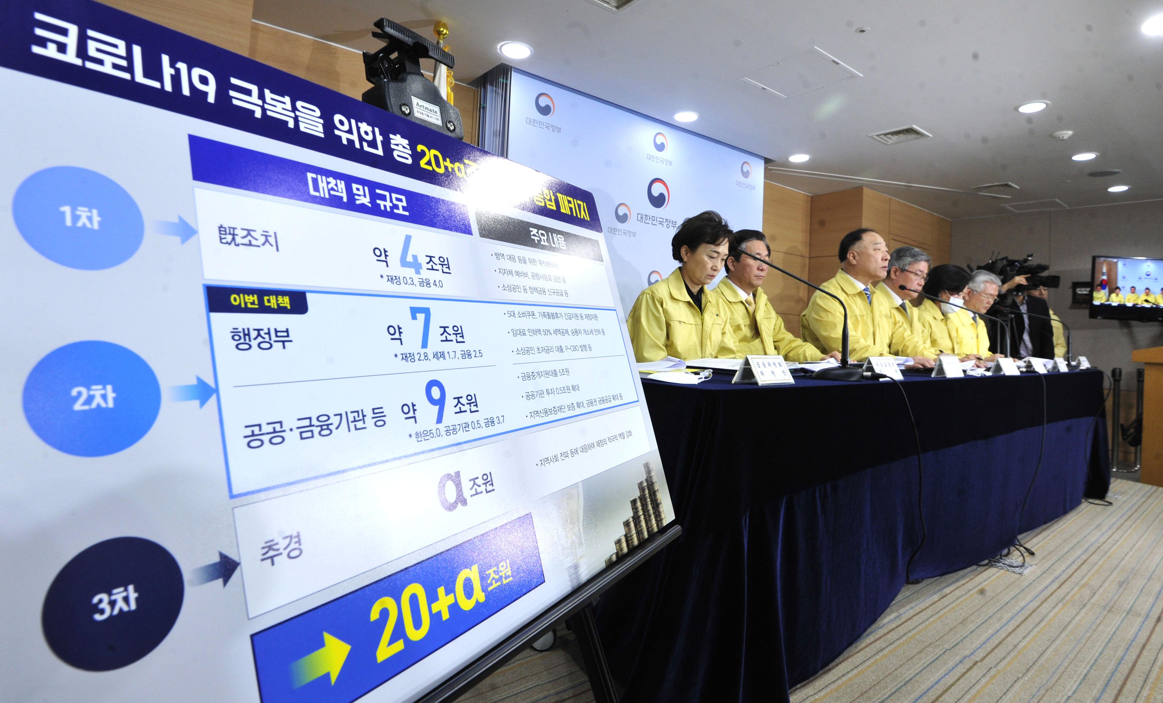 '코로나19 조기극복 종합대책 발표'
