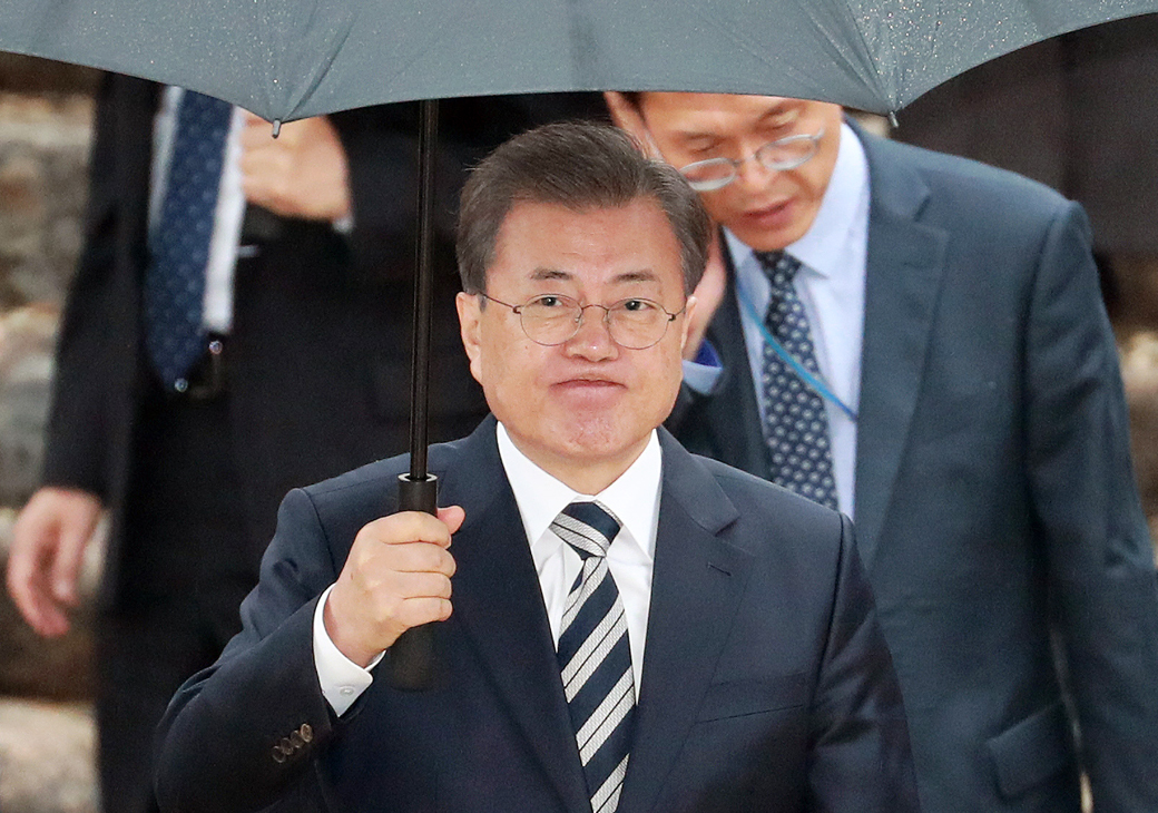영수회담 종료, 정부·여야4당 대표 '코로나19' 초당적 대응