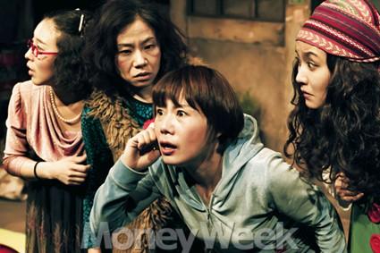대한민국 여성의 불안의식이 깔린 코믹 호러물