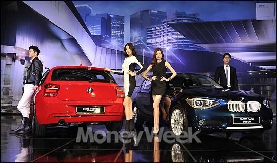 [MW사진] BMW, 3000만원대 소형차 '뉴 1시리즈'