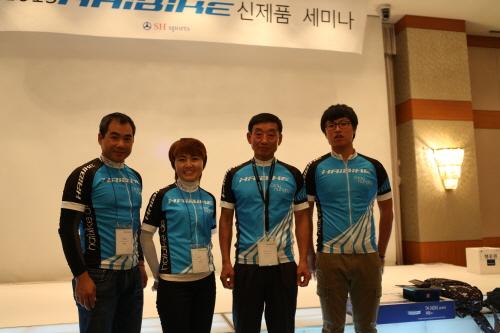 ▲ 하이바이크 팀