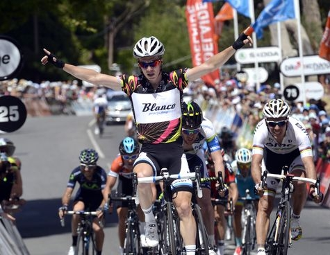 ▲ 27일 구간 우승으로 개인종합 우승을 차지한 슬랙터(UCI 자료)