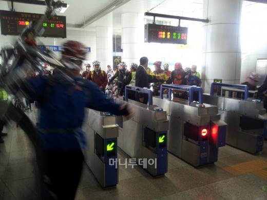 [사진]북한강자전거길 대행진 함께 하러 왔어요