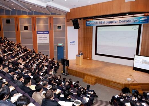 르노삼성 '2013 협력업체 컨벤션' 개최
