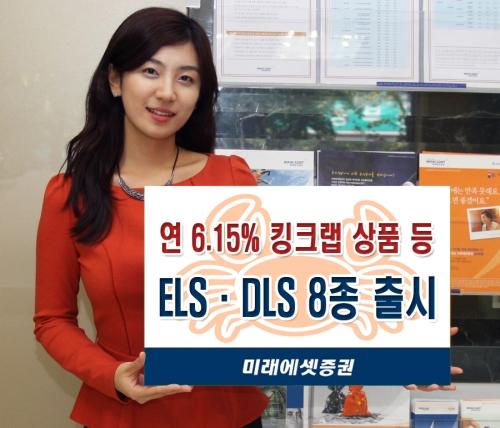 미래에셋증권, ELS·DLS 8종 출시