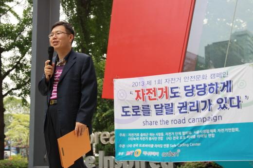 답하는 정태옥 안전행정부 지역발전정책관/사진=박정웅 기자