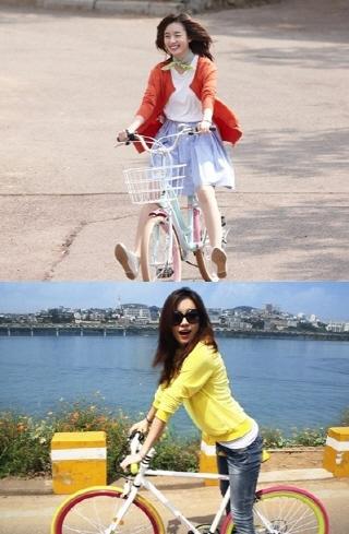 2011년 삼천리자전거 광고 소재/사진=OSEN