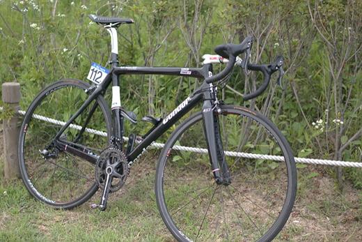 뚜르드코리아 우승을 함께 했던 마이크 커밍의 자전거. /사진제공=김종상