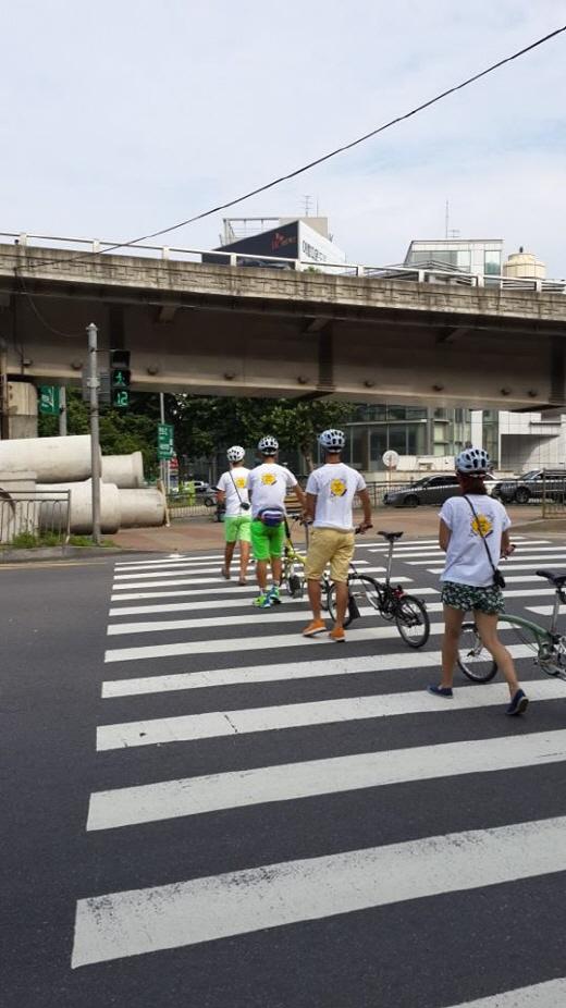 """""""자전거를 잘 탄다""""는 것은 다름이 아니라, '다치지 않고 안전하고 재미있게 자전거를 타는 것'일 것이다. /사진=이고운 기자"""