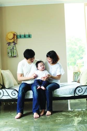 정혜욱씨 가족