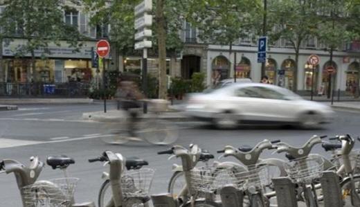 파리 공공자전거 벨리브/이미지=블로그 '벨리브 앤 므아' 켭처