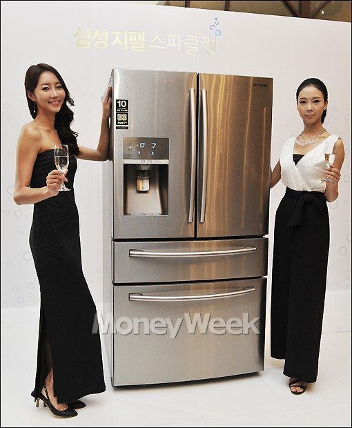 [MW사진] 삼성지펠, '스파클링 워터' 나오는 냉장고 출시
