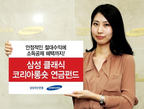 삼성자산운용, '삼성 클래식코리아롱숏 연금펀드' 출시