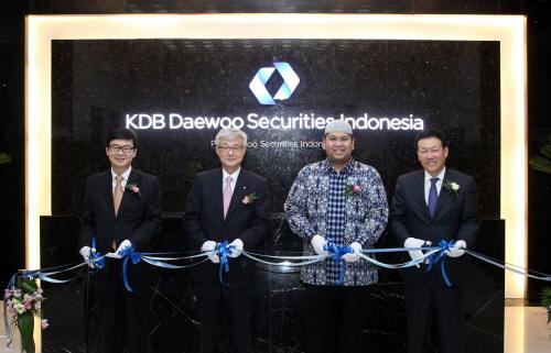 KDB대우증권, 인도네시아 시장 공략에 박차