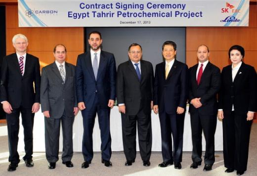 SK건설, 36억弗 규모 이집트 석유화학 플랜트공사 수주