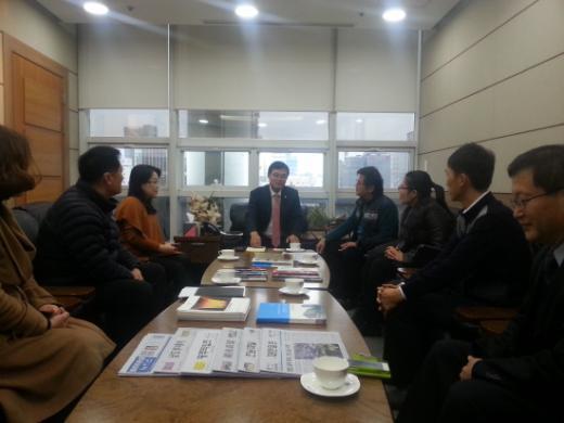 조호권 광주시의장, 사회적기업 대표들과 간담회