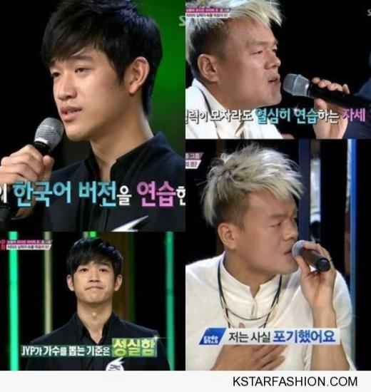 'K팝스타3' 박진영 야오 웨이타오 극찬, 언제든 'JYP 와라'