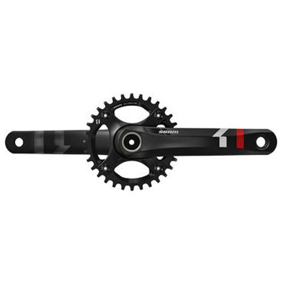 'X-Sync' 특허를 적용한 SRAM의 'X1 Hollow Forged Crankset'/이미지=스램