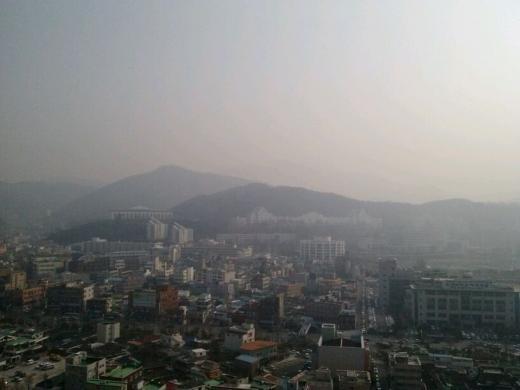 광주 오선동·전남 광양 진상면 미세먼지농도 나쁨수준