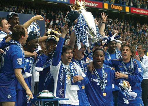 삼성전자는 지난 2004년부터 영국 프리미어리그 첼시FC를 후원하고 있다.