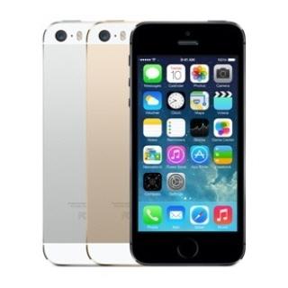 ▲4인치 화면인 아이폰5s.