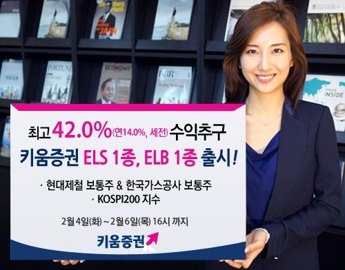 키움증권, ELS·ELB 판매