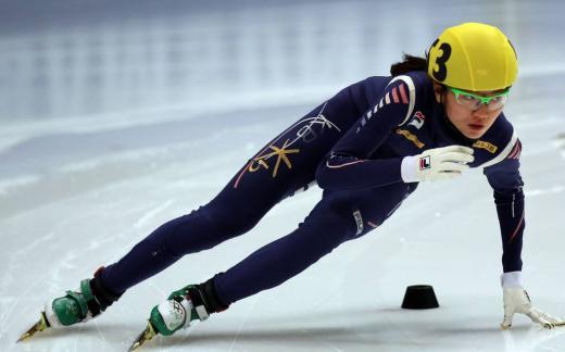 [소치2014]여고생 심석희, 여자 1500m 아쉬운 은메달