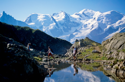 자연과 모험을 사랑한다면.. 프랑스의 알프스 '샤모니'