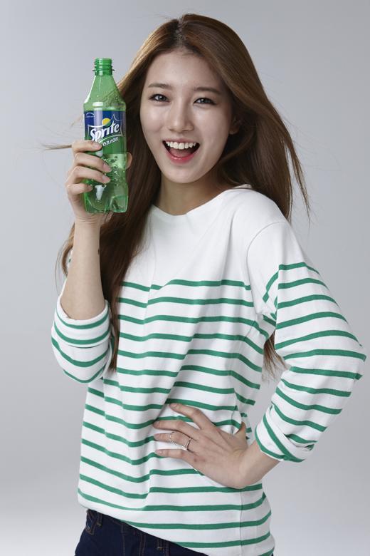 '수지' 스프라이트 모델 발탁..쿨 섹시의 매력 담은 광고 준비 중