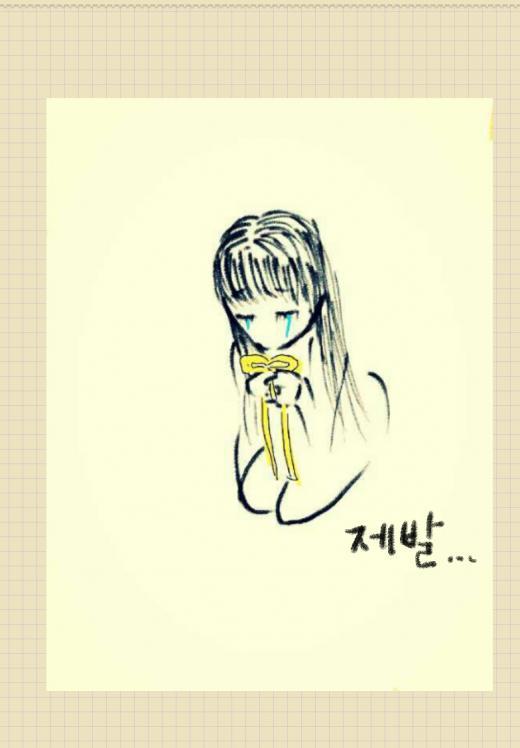"[★SNS]한지우, '노란리본달기 캠페인' 동참 ""모두의 마음을 담아 그림으로"""