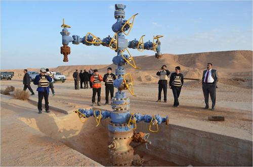 이라크 아카스 가스전 개발현장 /사진제공=한국가스공사