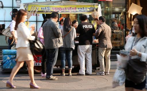 서울 중구 명동거리의 모습. /사진제공=머니투데이