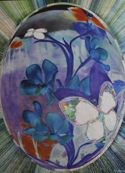 ▲Rebirth 01458, 89×117㎝, mixed media on canvas, 2014