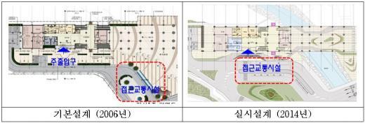 삼동역 기본설계 변경 사례. /자료제공=철도공단