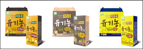 한미메디케어, 유기농콩 100% 전두유 3종 출시