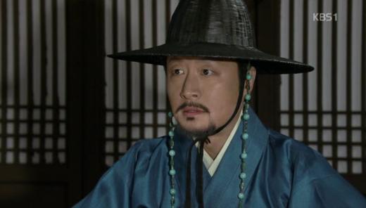 ▲KBS 정도전에서 이방우 역할로 활약중인 배우 강주상