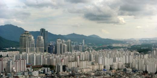 서울 강남 아파트단지 전경.(사진제공=뉴스1)