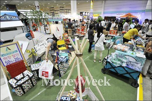 [MW사진] 주말엔 '코리아오토캠핑쇼'