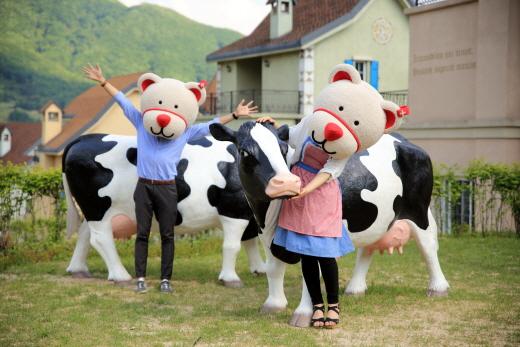 가평에서 만나는 스위스의 작은 마을 '에델바이스 스위스 테마파크'