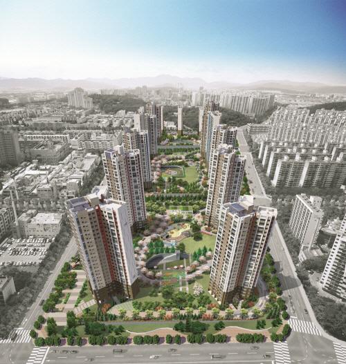 ▲포스코건설 '창원 더샵 센트럴파크