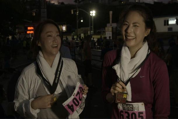 '트렌디 로드'박지윤, 괌 국제 마라톤 상위권 완주…'우사인지윤!'