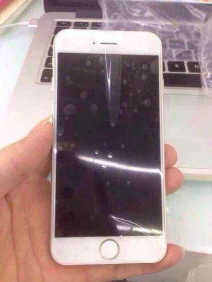 중국 블로거를 통해 공개된 아이폰6.