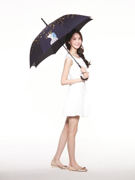 '비 오는 날도 스페셜하게~', 아모레퍼시픽 하정우 우산 판매 개시