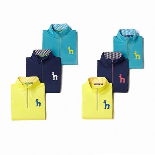 장마철 쾌적한 라운딩…헤지스골프, '발수 코팅 집업 티셔츠' 출시