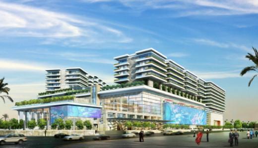 인도 뭄바이 다이섹(DAICEC) 건축물 조감도. /사진제공=삼성물산