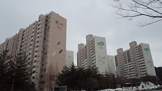 강릉 교동택지 아파트 단지 전경 / 머니투데이DB
